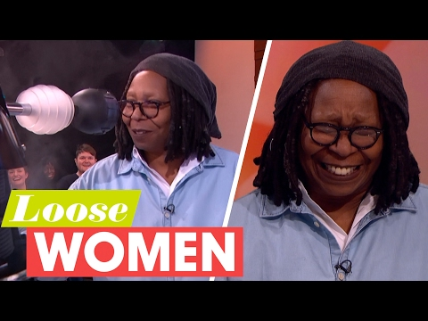 Whoopi Goldberg Plays Penguin or Panda and Kisses a Dalek! | Loose Women