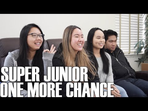 Super Junior (슈퍼주니어)- One More Chance (Reaction Video)