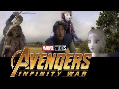 Avengers Infinity War Parody/ Disney/Non