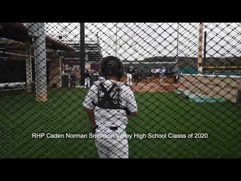 RHP Caden Norman Smithson Valley High School Class of 2020