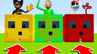 DO NOT CHOOSE THE WRONG SLIME (INK BENDY, BALDI, FORKY.EXE)(Ps3/Xbox360/PS4/XboxOne/PE/MCPE)