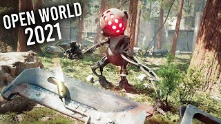 Top 20 NEW Open World Games of 2021