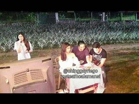 Eat Bulaga March 24 2017 BTS Alden & Maine SPOTTED during #DTBY shooting (Clear View)