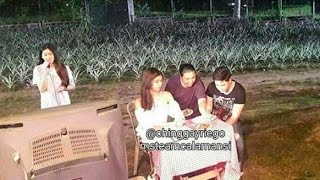eat bulaga march 24 2017 bts alden maine spotted during dtby shooting clear view