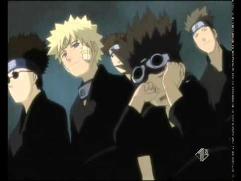 Naruto - Hokages funeral (orginal naruto scene) *-*