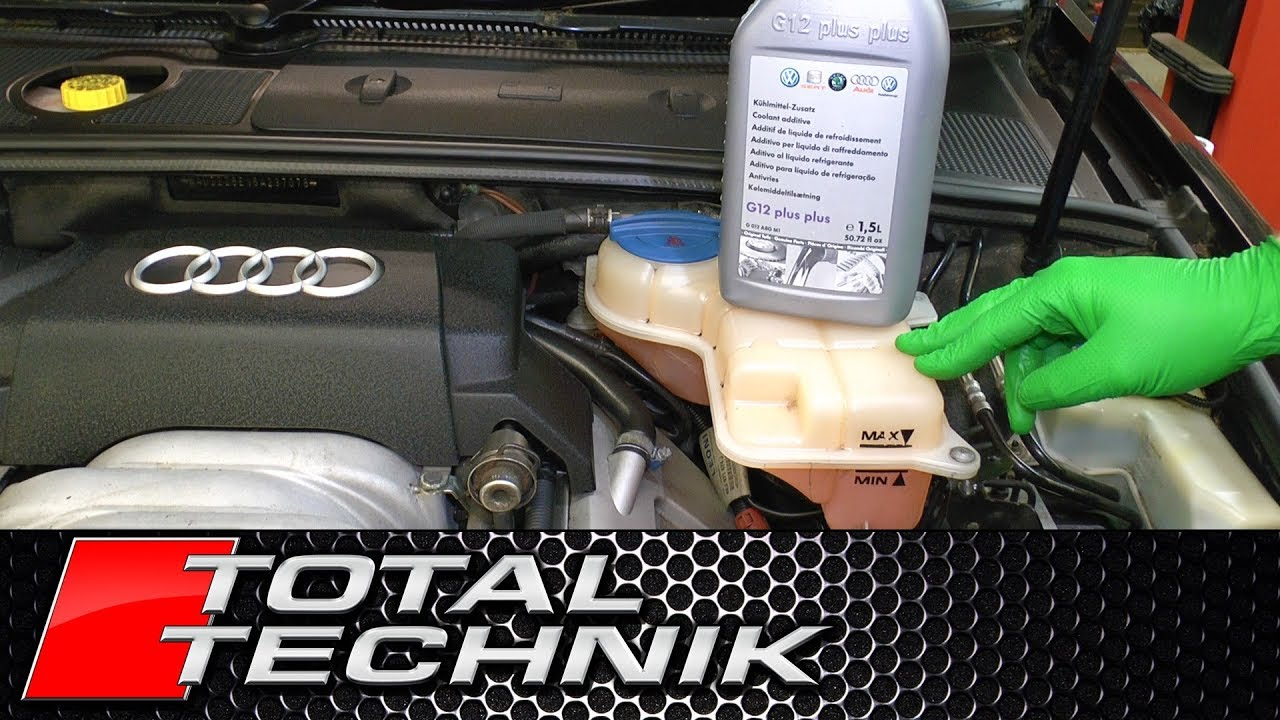 Audi ALL MODELS G12 G13 Coolant Antifreeze - How Often Should I Change It?  - TOTAL TECHNIK - YouTube | Audi Engine Coolant |  | YouTube