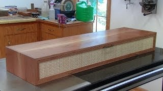 Making a Media Box; Andrew Pitts~FurnitureMaker