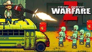 На АВТОБУСЕ Против ЗОМБИ! Собери КОМАНДУ и УНИЧТОЖЬ ЗОМБИ в Игре Dead Ahead: Zombie Warfare
