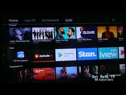how to download Amazon Prime on an android TV