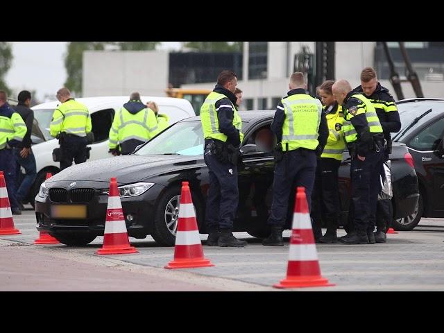 Grote verkeerscontrole Sontplein Groningen