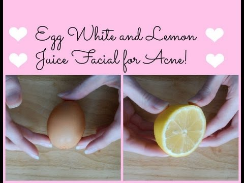 hqdefault - Lemon Egg White Mask Acne