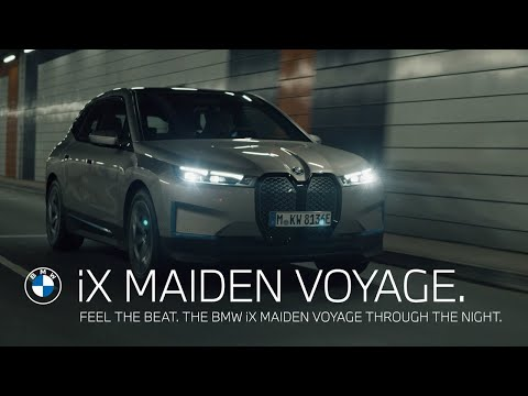 Feel the beat. The BMW iX maiden voyage through the night. The 4 hours stream.
