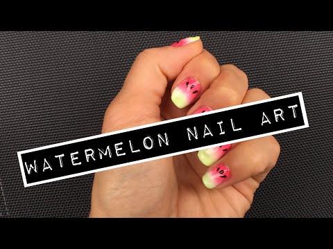 Watermelon Nail Art Tutorial thumbnail