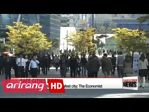 Seoul ranked 14th safest city in the world according to The Economist