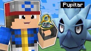 Minecraft Pokémon #5: CONSEGUI MINHA PRIMEIRA INSÍGNIA E  LARVITAR EVOLUIU!