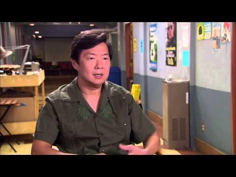 """Community Season 5: KEN JEONG """"Chang"""" Premiere Episode Interview"""