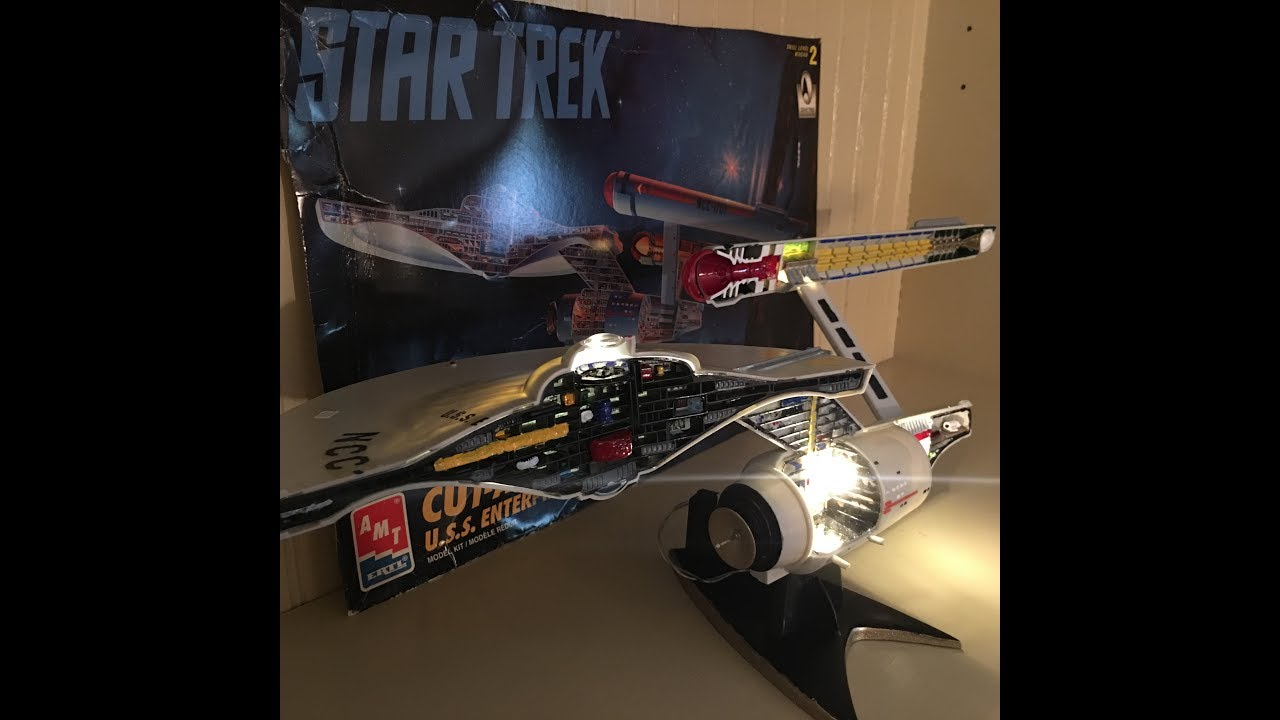 u s s enterprise cutaway 30th anniversary commemorative model kit