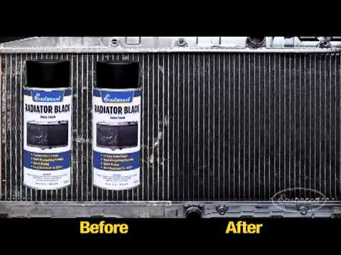 Black Car Radiator Paint