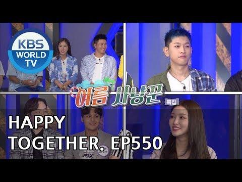 Happy Together I 해피투게더 - Ji Sangryeol, CHUNGHA, CRUSH, Yuqi, etc [ENG/2018.08.23]