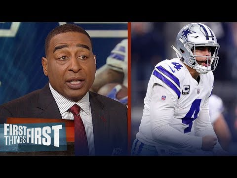 Cris and Nick on the Cowboys clinching the NFC East after Week 16 win | NFL | FIRST THINGS FIRST
