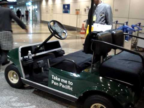 The Technobedouin: Pick up cart from Airport to Pan Pacific Hotel KL