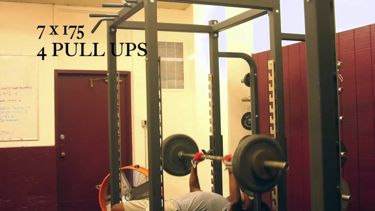 Bench Press Pull Up Combo Youtube