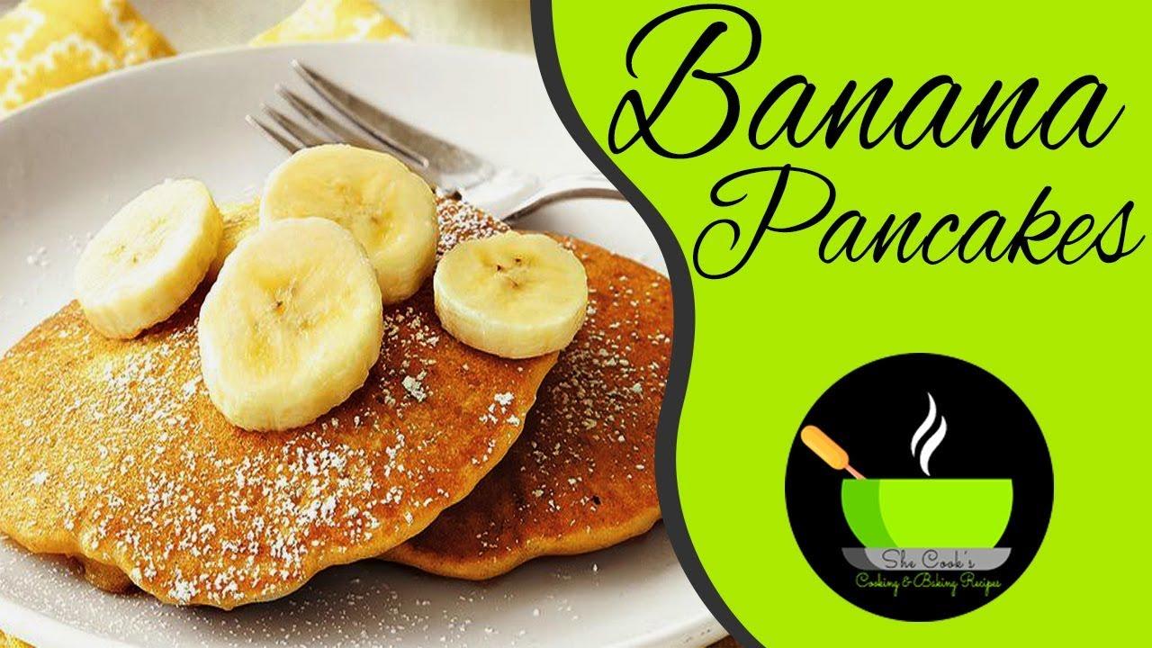 Banana pancakes recipe fluffy pancakes recipe easy pancake bananapancakesrecipe fluffypancakesrecipe simplebreakfastrecipe ccuart Images
