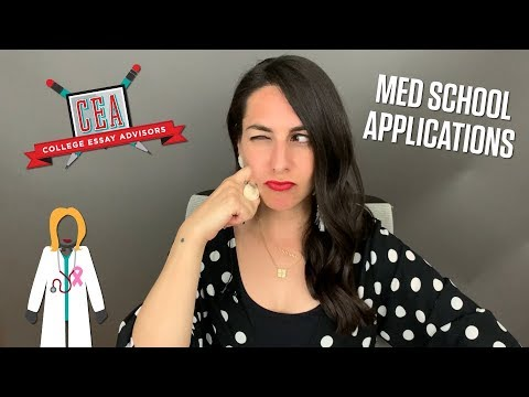 Видео Med school application essay