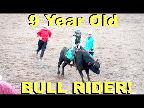KIDS BULL RIDING AT THE BEST RODEO IN THE WORLD!
