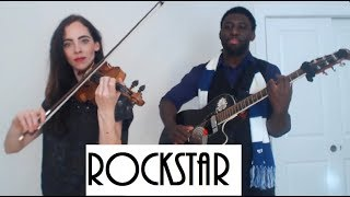 Guitaro 5000 and Rebecca Cherry - Rockstar (Post Malone cover)