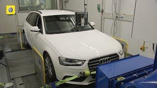 Test TCS sull'aggiornamento del software VW