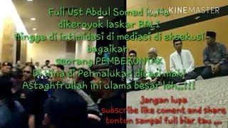 Download Video Astaghfirullah full detik detik ust Abdul somad Lc Ma dikeroyok laskar bali MP3 3GP MP4