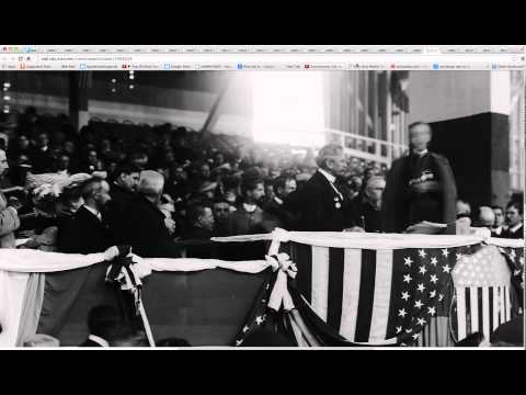 teddy roosevelt in St. Louis at the 1904 World's Fair