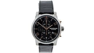 Montblanc TimeWalker Collection Chronograph - Reference: 105805