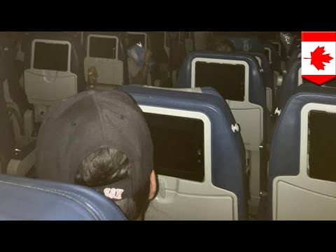Airplane horror stories: Air Transat plane stuck on runway for 6 hours, 911 called - TomoNews