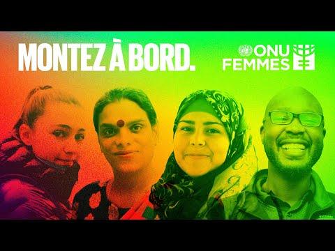 Montez à bord pour l'égalité entre les femmes et les hommes