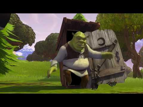 New! Fortnite Location! // Shreks Swamp