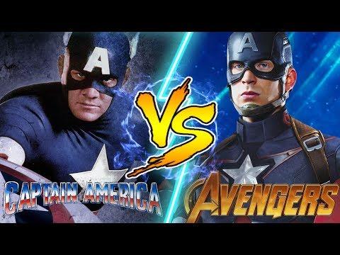 Captain America vs Captain America! WHO WOULD WIN IN A FIGHT?