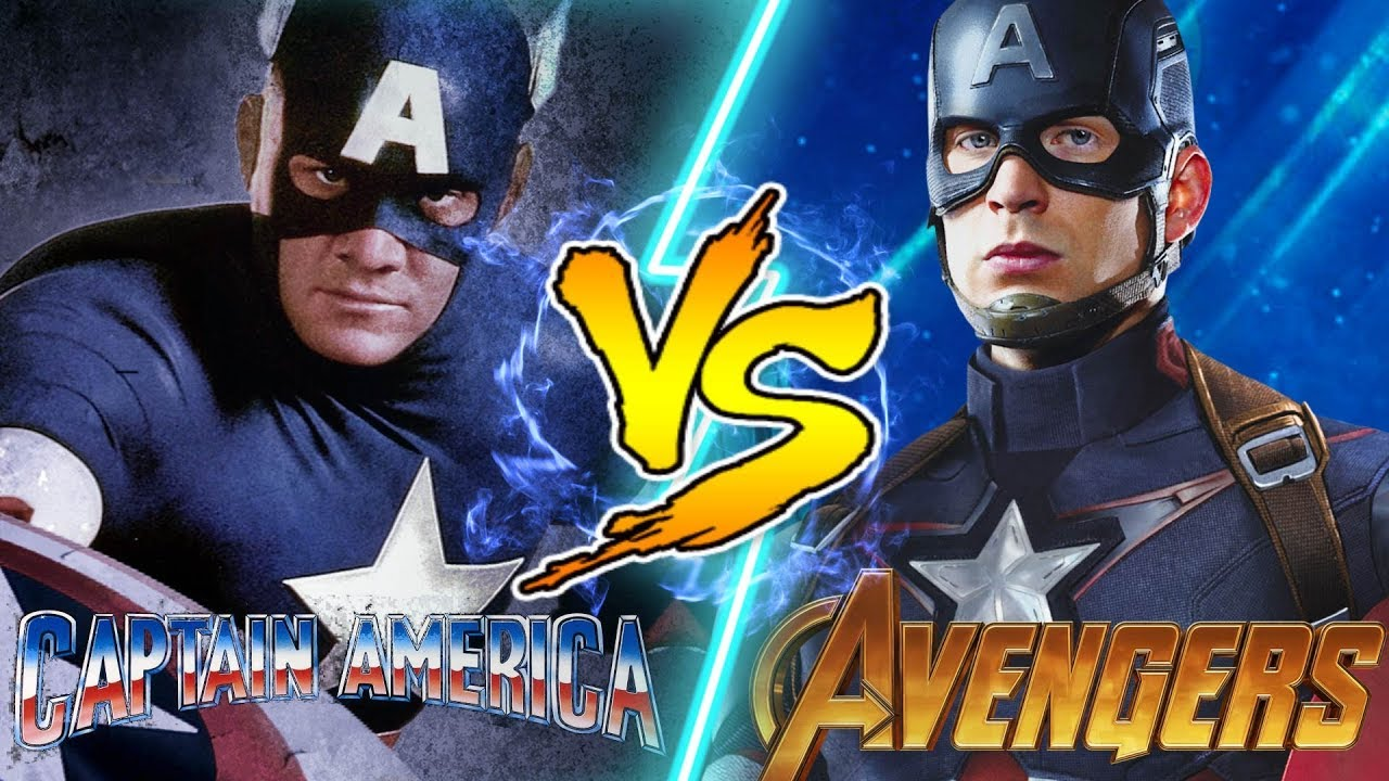 Captain America Vs Captain Marvel Fight