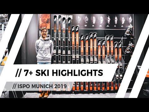 // 7+ Highlight Ski-Neuheiten der Saison 2019/20 // ISPO Munich 2019
