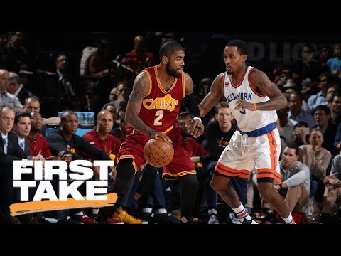Stephen A. Smith Says Kyrie Irving Should Go To Knicks | First Take | ESPN
