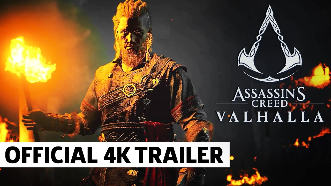 Assassin's Creed Valhalla - Official Story Trailer (4K)