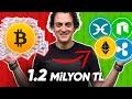 1.200.000 TL'lik AltCoin ALDIK! (Bitcoin'in Kârını Bastık!)