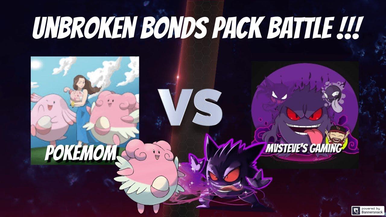 Pokemon TCG - Unbroken Bonds Pack Battle Opening VS. Pokemom!!!