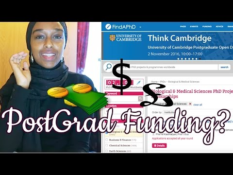 Easy Ways To Find Funding For A Master's Or PhD!