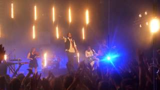 Les Cowboys Fringants solo Marie-Annick+Joyeux Calvaire, Live festival à L