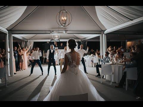 EPIC GROOMSMEN DANCE SUPRISE for the bride - Amazing Wedding 2017