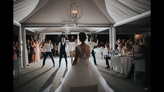 EPIC GROOMSMEN DANCE SUPRISE for the bride - Amazing Wedding 2017 MP3