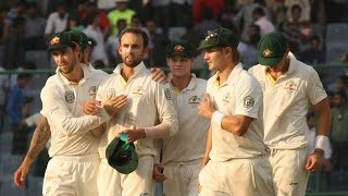 India vs Australia, 1st Test, Day 5 (Australia Wins)