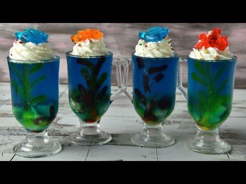 Finding Dory Jello Aquarium Cups Haniela S Youtube